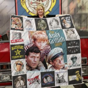 The Andy Griffith Show Quilt Blanket