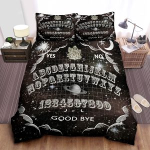 Ouija Witch Cotton Bed Sheets Spread Comforter Duvet Cover Bedding Sets