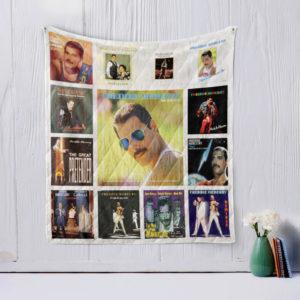 Freddie Mercury Quilt Blanket