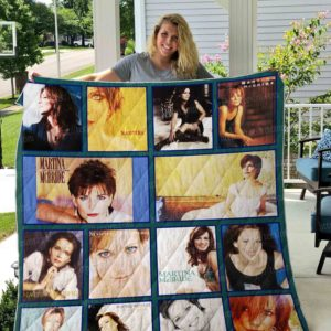 Martina Mcbride Quilt Blanket 01