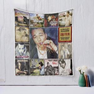 Uncle Kracker Quilt Blanket