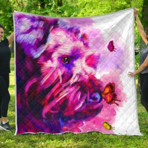 Schnauzer Quilt Blanket Great Gifts For Birthday Christmas Thanksgiving Anniversary