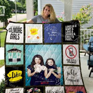 Gilmore Girls Quilt Blanket 0529