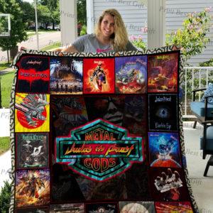 Judas Priest Albums Cover Poster Quilt Blanket