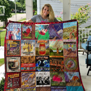 Little Feat Albums Cover Poster Quilt Blanket Ver 2