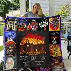 Judas Priest Quilt Blanket
