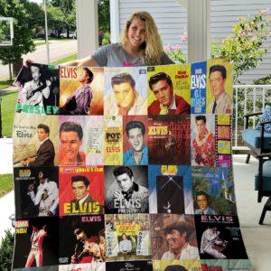 Elvis Presley Quilt Blanket