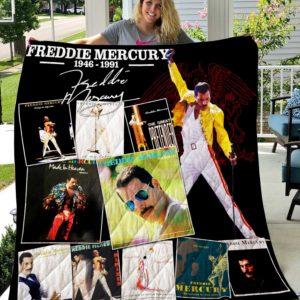 Freddie Mercury Vr1 New Quilt Blanket
