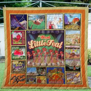 Little Feat Albums Quilt Blanket For Fans