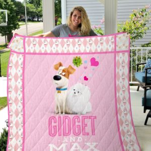 The Secret Life Of Pets – Gidget And Max Quilt Blanket