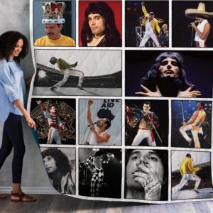 Freddie Mercury Quilt Blanket 02