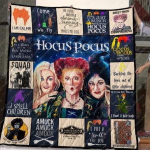 Hocus Pocus Quilt Blanket
