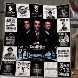 Goodfellas Quilt Blanket
