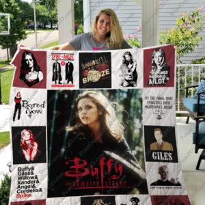 Buffy The Vampire Slayer Quilt Blanket