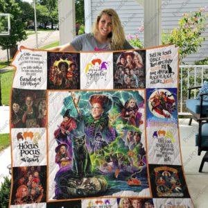Hocus Pocus Quilt Blanket For Fans