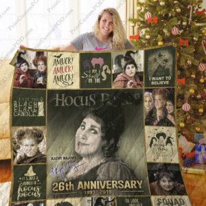 Hocus Pocus Quilt Blanket Ver 3