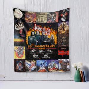 Judas Priest Style 3 Quilt Blanket