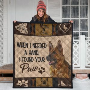German Shepherd Quilt Blanket Great Gifts For Birthday Christmas Thanksgiving Anniversary