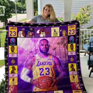 Lebron James Quilt Blanket