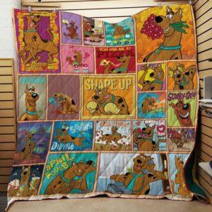 Scooby Doo Quilt Blanket