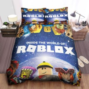 Inside The World Of Roblox Games Bed Sheets Spread Duvet Cover Bedding Set Ver 2